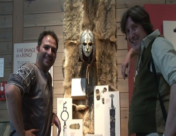 Beowulf And The Anglo Saxons: Kevin with Dr. Sam Newton (Green Valley Film Productions)